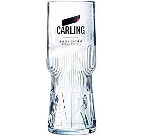 Set Of 2 Carlsberg Export Half Pint 10oz Glasses Brand New 100/% Genuine Official