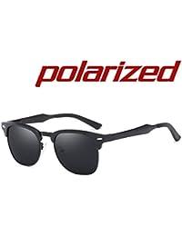 JULI Polarisiert Sport Sonnenbrillen Herren Damen Aluminium Magnesium Legierung Unzerbrechlich Rahmen KfztVfN