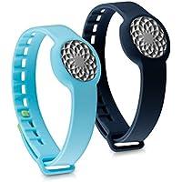 kwmobile 2in1:2x Sport braccialetto sostitutivo per Jawbone UP Move in