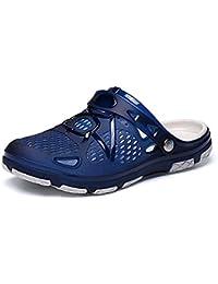 WANPUL Zoccoli Uomo Pantofole da Bagno Traspiranti Outdoor Antiscivolo Calzature  da Bagno Spiaggia estive 9a1071d88a6