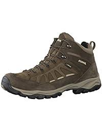 Meindl nebraska mens zapatos, de color marrón oscuro