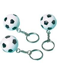 Anniversaire Kermesse - Pack de 12 Portes-Clés - 8 cm - Ballons de Football - Anniversaire Garçon