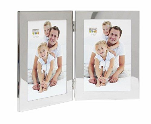deknudt-frames-s67ah1h2v-cadre-photo-diptyque-vertical-metal-argente-brillant-13-x-18-cm