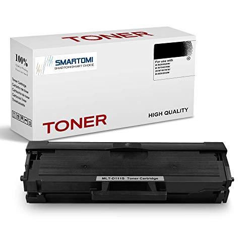 SMARTOMI, confezione da 1 cartuccia toner nero MLT-D111S compatibile con Samsung MLTD111S per uso con stampanti Xpress serie SL- M2026 M2020 M2070 M2022 M2071