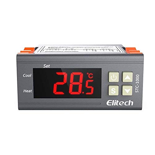 Elitech(UK) 220V Digital USTC-1000 -50℃~99℃ Thermostat Temperature Controller
