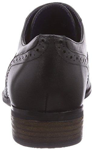 Clarks Hamble Oak Damen Brogue Schnürhalbschuhe Schwarz (Black Leather)