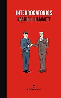 Interrogatorios par DASHIELL HAMMETT