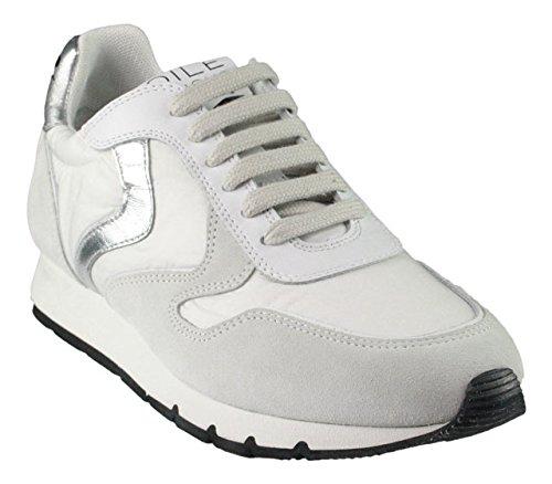 Voile Blanche  Julia, Chaussures de ville à lacets pour femme Bianco Argento