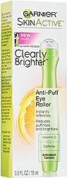 4 Pack - Garnier Nutritioniste Skin Renew Anti-Puff Eye Roller 0.50 oz