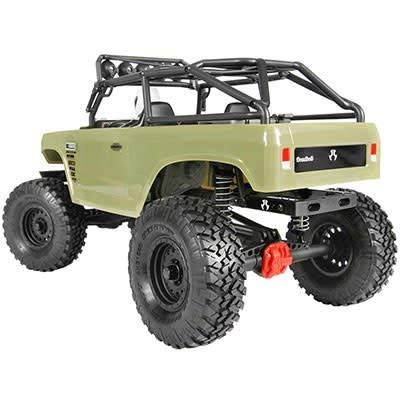 AXIAL AX90066 SCX10 II Schlossriegel 4WD Off-Road 4x4 Elektro RC Rock Crawler RTR, Olive Drab