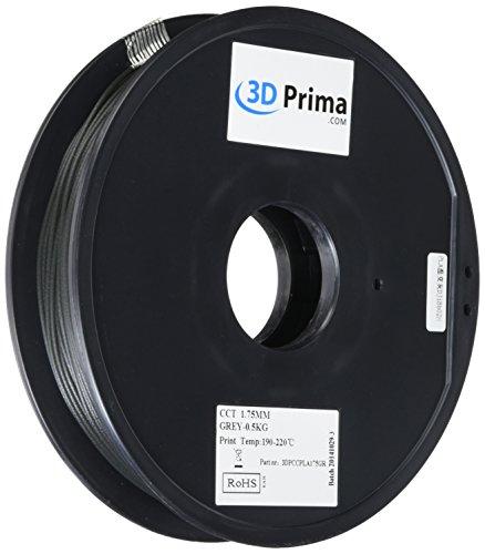 Prima 3dpccpla175gr 3d impresión filament, PLA, 1,75mm, 0.5kg bob