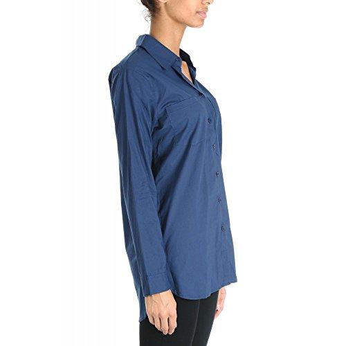 By Swan-Camicia in cotone, motivo Onime di colore Marine