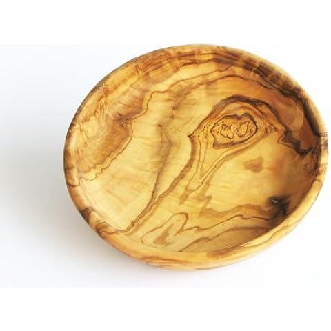 Scodella tonda LAMAMMA - in legno d'ulivo, diametro ca. 19