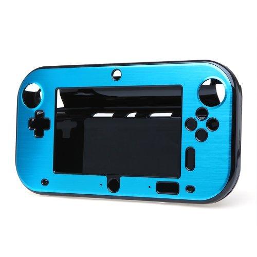 SODIAL(R) Aluminio de la Caja Cubierta para Nintendo Wii U Mango de Co