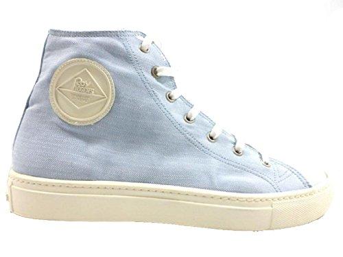 scarpe uomo ROY ROGERS sneakers celeste tessuto AH500 (41 EU)