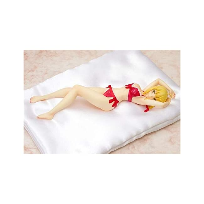 Knmbmg Fate/Extella: Saber Nero Claudius Maßstab 1/8, Anime Hübsches Mädchen Sexy Rote Unterwäsc