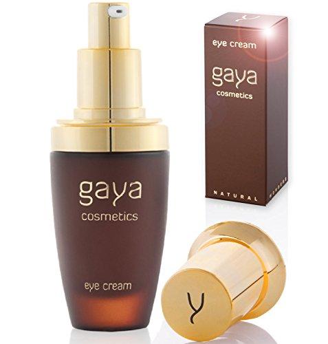 Gaya Cosmetics Vegan Eye Cream gegen Dark Circles - Professionelle Anti Augenringe & Antifalten Creme gegen Schwellungen & dunkle Ringe