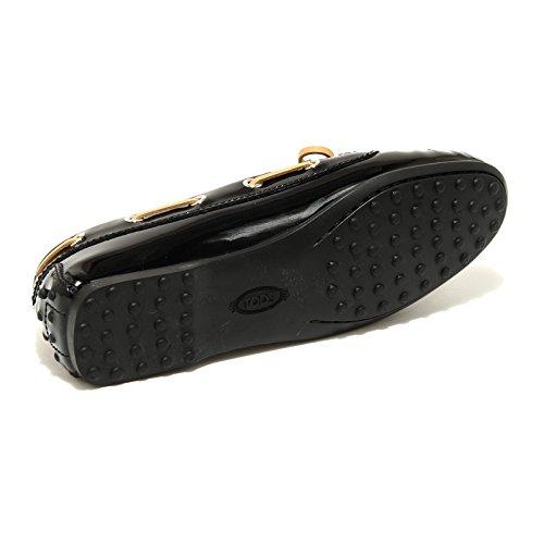 42818 TOD'S mocassino scarpa donna loafer shoes women nero Nero