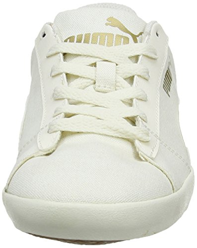 Puma Civilian Canvas, Chaussons Sneaker Adulte Mixte Blanc (Whisper White/Whisper White)