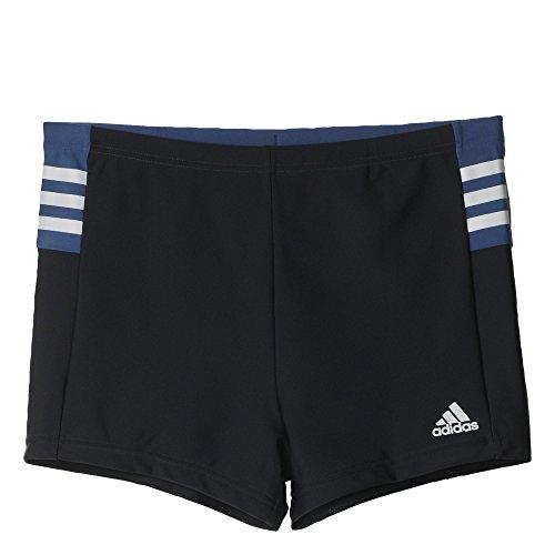 adidas Herren Badeshorts I INS BX mehrfarbig (Schwarz/Blau/Weiß)