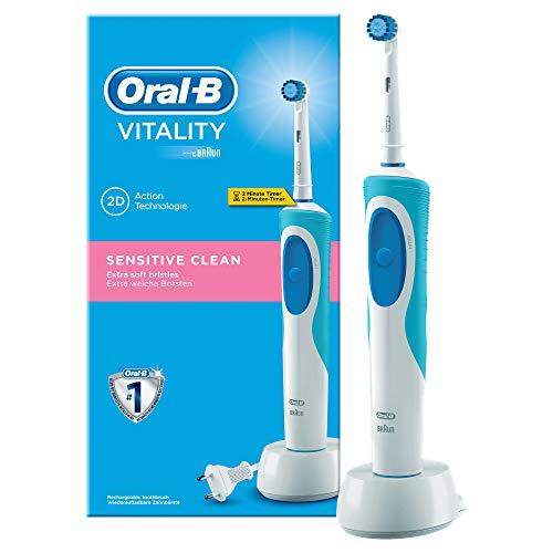 Oral-B Vitality Sensitive D12.513S Brosse à Dents Electrique/Rotative