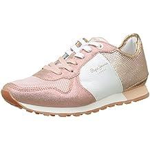Pepe Jeans Verona W Sequins, Zapatillas Para Mujer