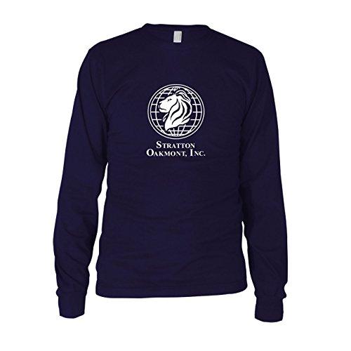 Kostüme Of Wolf Wall Street (Stratton Oakmont Inc. - Herren Langarm T-Shirt, Größe: XL,)