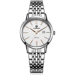 STARKING Women's BL0976SS11 Quartz Stainless Steel Watch with Sapphire Dial Window