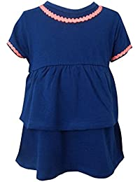 100% Cotton Knitted Baby Girls Top