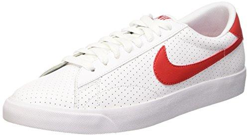 Nike Herren Tennis Classic AC Tennisschuhe, Multicolore-Blanco / Rojo (White / Unvrsty Red-Brght Crmsn), 42 EU