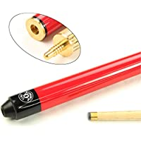 Jonny 8 Ball RED JET JUNIOR 36 inch 2 Pc Ash Pool Snooker Cue - 10mm Tip
