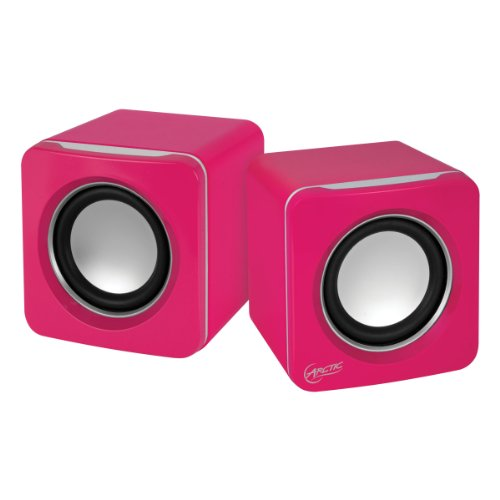 Arctic S111 - Altavoces para PC (USB, 2.0, 3.5 mm) color rosa