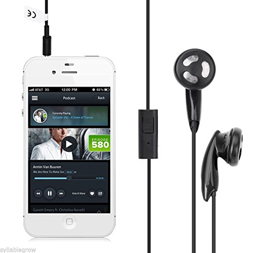 3,5mm in Ear Kopfhörer Kopfhörer für iPhone iPad Samsung HTC Laptops Phone - Blackberry Stereo Mini