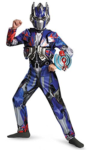 Disguise Hasbro Transformers Age of Extinction Movie Optimus Prime Deluxe Boys Costume, ()