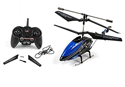 Udi U820 Micro Metal 2.4GHz RC Helicopter Blue Ready To Fly RTF