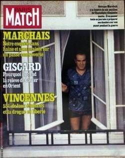 PARIS MATCH N 1608 du 21-03-1980 MARCHAIS - ENQUETE SUR UN PASSE CONTROVERSE. GISCARD - POURQUOI IL PREND LA RELEVE DE CARTER EN ORIENT. VINCENNES - 55% DE FAUX ETUDIANTS ET LA DROGUE EN LIBERTE. ALI MAC GRAW S'EST REFAIT UN VISAGE POUR SON NOUVEL AMOUR MADELEINE RENAUD ET JEAN LOUIS BARRAULT MICHAEL WILDING LE FILS DE LIZ CONDAMNE AU CELIBAT PAR GETTY KAREN CHEYRYL CHERCHE UN ANTI MACHO URSULA ANDRESS CLOITREE AVANT LA NAISSANCE DOROTHEE MA VIE PRIVEE VA BIEN MERCI MARIELLE GOITSCHEL SI J'...