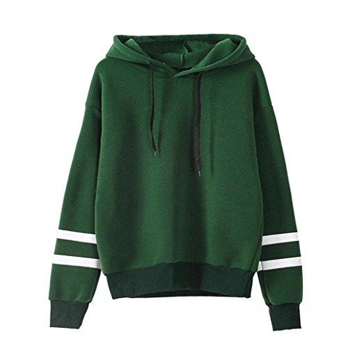 Damen Hoodie Sweatshirt, Zolimx Frauen Jumper Mit Kapuze Pullover Grün