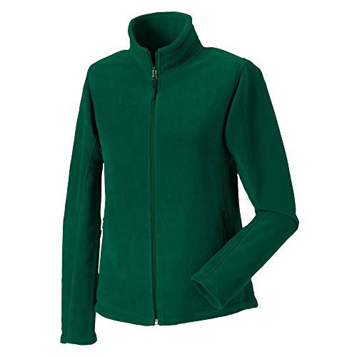 Jerzees Colours Outdoor Fleece Jacke für Damen (2XL) (Flaschengrün) -