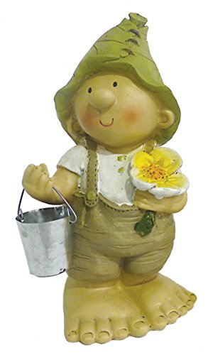 Lilly-and-Len-Elves-standing-24cm-Garden-Ornament-Gnome-Garden-Fairy-Troll-Imp-