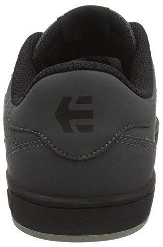 Etnies Fader Ls, Chaussures de Skateboard Homme Gris - Grey (Dark Grey/Black022)