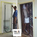 True Products Dust Stop Zip Door Kit - Pre-Assembled for easy installation.