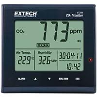 Extech Instruments CO100 - Monitor della qualità dell'aria, con rilevatore di anidride carbonica