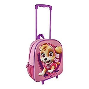 Paw Patrol 2100001954 Skye Travel Trolley with 31 cm 3D Junior Backpack from Paw Patrol