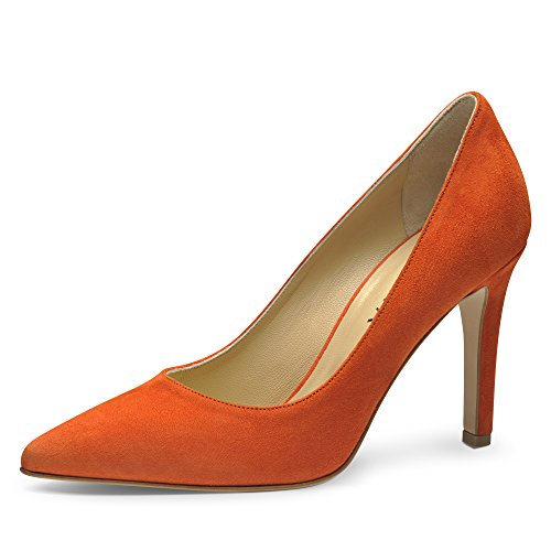 ILARIA Damen Pumps Rauleder Orange