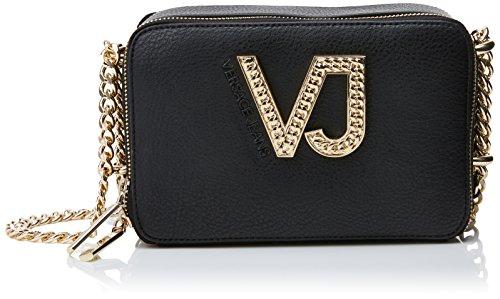41CtqzufUzL - Versace Damen Ee1vrbbc2 E70034 Umhängetaschen, 7.5x13x20 cm