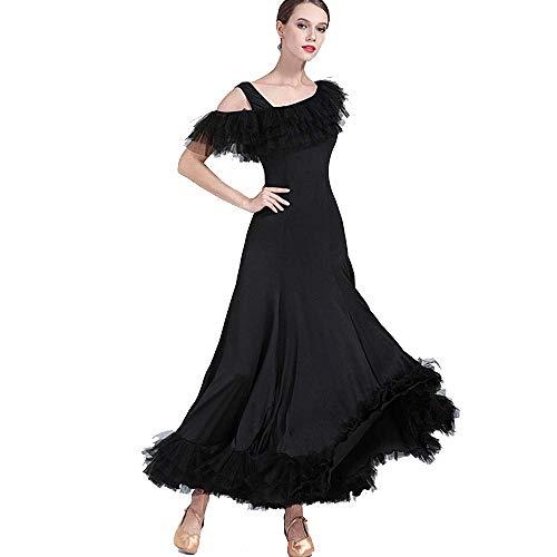 Z&X Modern Ballroom Dance Dress Rock Für Wettbewerb Performance Kleidung Frauen Frauen,XXL