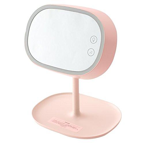 Multifunktions-Eitelkeits-Spiegel, intelligentes Fülllicht HD Spiegel-Speicher kann als kleine Tischlampe, einfaches und stilvolles wieder aufladbares verwendet werden Drei Farben sind verfügbar.