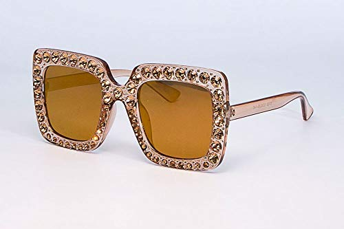 GFF Frauen Sonnenbrillen Glitter Square Damen Retro Brand Desginer Fashion Female 45321