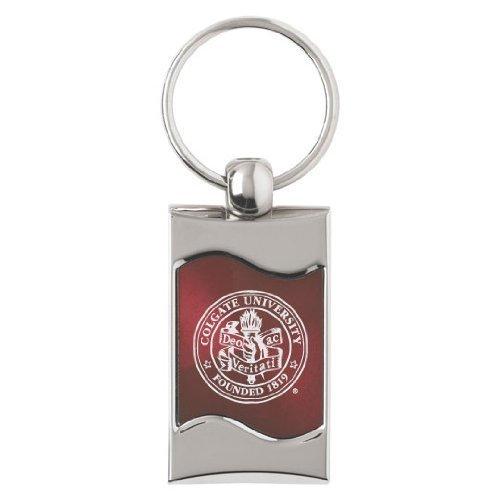 colgate-university-wave-key-tag-burgundy-by-lxg-inc