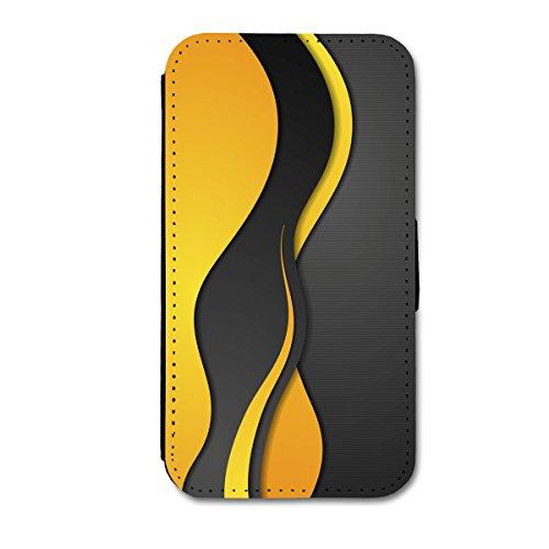 Book Style Flip Handy Tasche Case Schutz Hülle Schale Motiv Etui für Apple iPhone 6 - 4,7 Zoll - Flip 1A49 Design1 Design 7